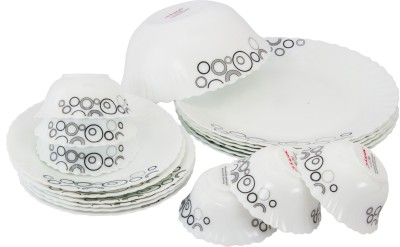 La Opala Diva Pack of 19 Dinner Set