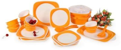Joy Home Square Pack of 32 Dinner Set(Polypropylene)