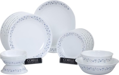 Corelle Lilac Blush Pack of 21 Dinner Set(Glass) at flipkart