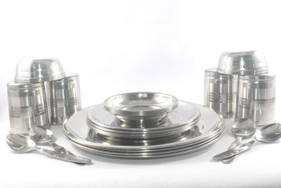 Clobber Dinner Set(Stainless Steel)