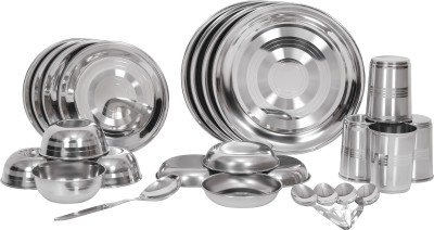 Scitek Superior Pack of 25 Dinner Set