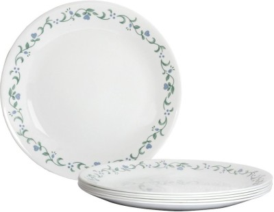 Corelle Livingware Country Cottage Pack of 6 Dinner Set(Glass)
