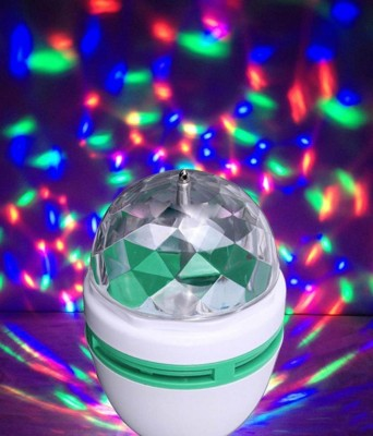 Best Deal BEST DEAL LED ROTATING BULB IN MULTI-COLOR-1 PC Single Disco Ball