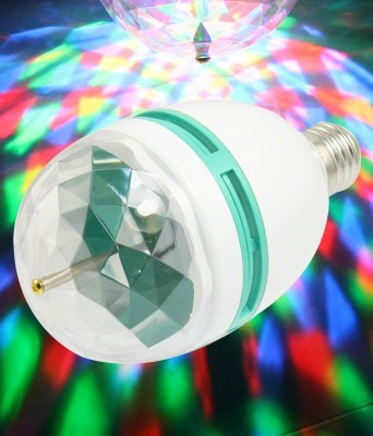Best Deal BEST DEAL LED ROTATING BULB IN MULTICOLOR Single Disco Ball