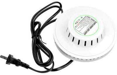 Adraxx 8W 48 LED Auto Voice-activated RGB Mini Stage Light Single Disco Ball(Ball Diameter: 13.5 cm)