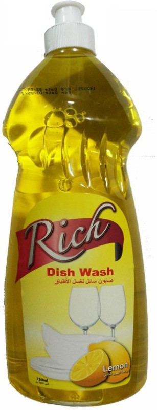 Rich Liquid Dish Cleaning Gel(Lemon)
