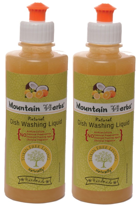 MOUNTAIN HERBS TOXIN FREE Dish Cleaning Gel(CITRUS)