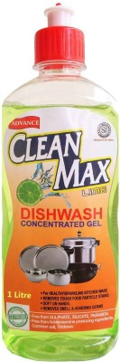 Cleanmax 1L CONCENTRATED Dish Cleaning Gel(LIME)