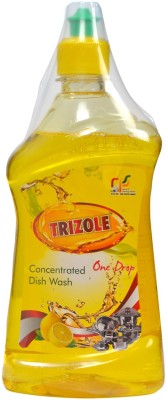 Trizole Concentrated Dish wash 500 ml Pack of 3 Dish Cleaning Gel(Lemon)