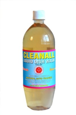 National Auto Traders Cleanall Dish Cleaning Gel(Lemon)