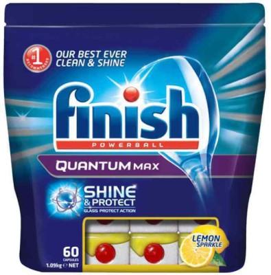 Finish Quantum Max 60 Tablets Imported Dishwashing Detergent