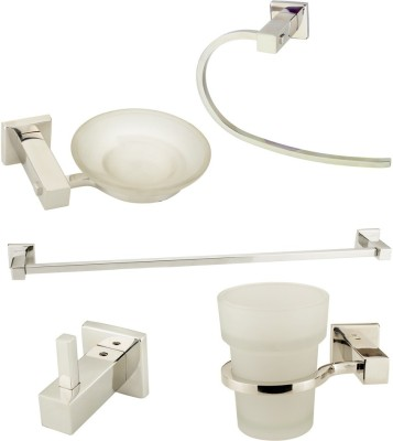 Doyours 5 Pieces Stainless Steel Bathroom Accessories set (Simco R series) Stainless Steel Bathroom Set