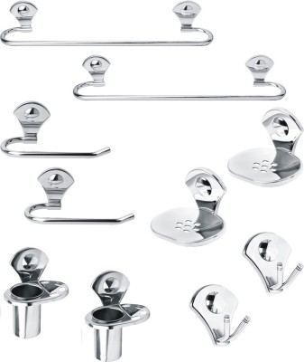 Handy Stainless Steel Bathroom Set(Pack of 10)