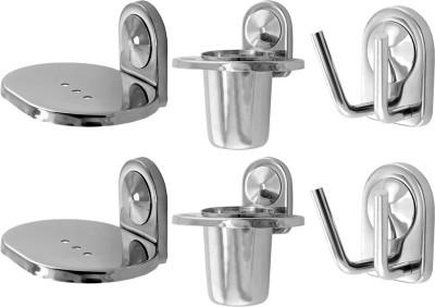 Klaxon Armano Stainless Steel Bathroom Set