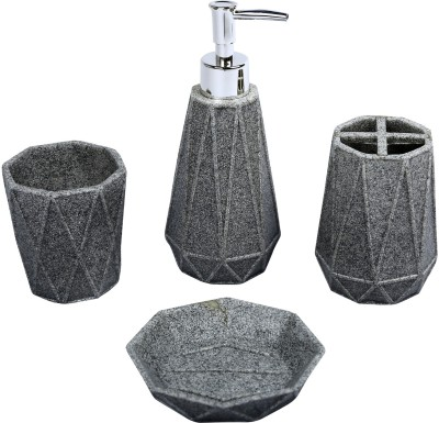 home creations Stone style Bath set Marble Bathroom Set