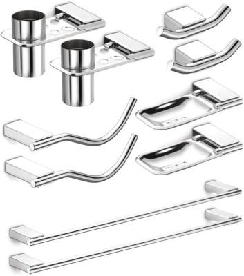 dazzle Regent Stainless Steel Bathroom Set
