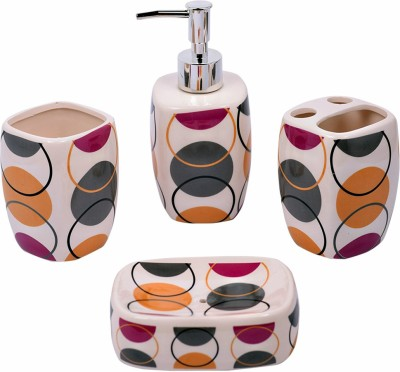 Enfin Homes Porcelain Bathroom Set