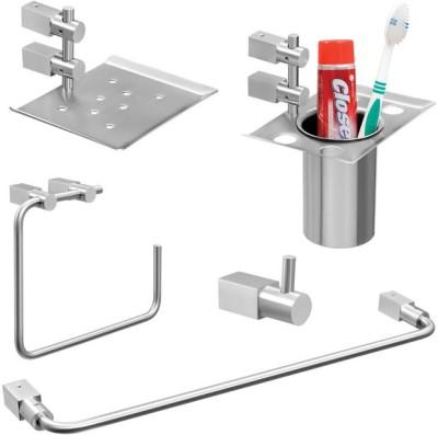Doyours 5 Pieces Bathroom Accessories Set, Hotelier series 1 Stainless Steel Bathroom Set