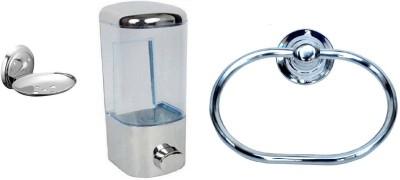 DEVICE IN LION Steel, Plastic Bathroom Set