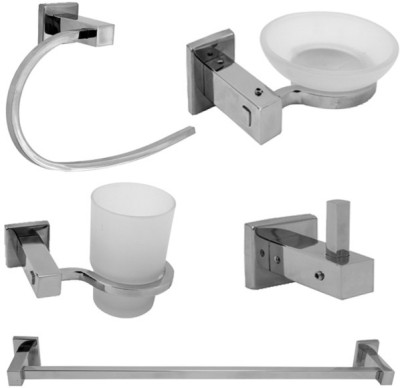 The Interiors Stainless Steel Bathroom Set