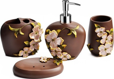 Shresmo Polyresin Bathroom Set