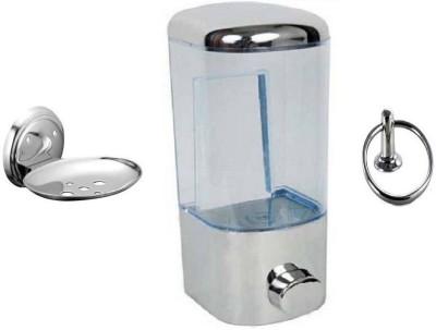DEVICE IN LION GLOSSY Plastic, Steel Bathroom Set