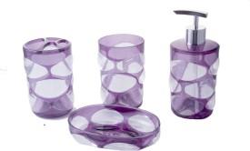 Dloop Plastic Bathroom Set(Pack of 3)