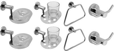 Klaxon Calibo Stainless Steel Bathroom Set