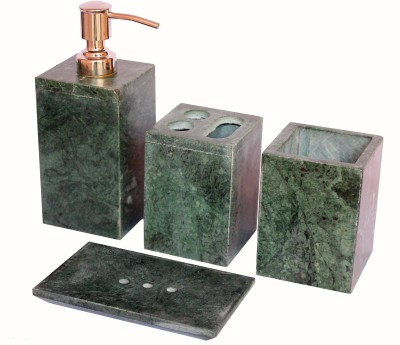 Stonkraft Natural Stone Made Bathroom Accessories Stoneware Bathroom Set