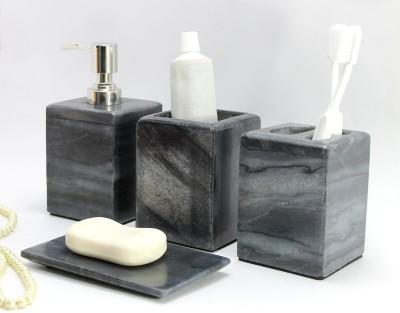 KLEO luxury Stoneware Bathroom Set