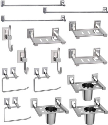Doyours 3 Sets of Stainless Steel Bathroom Accessories set (Oscar series) Stainless Steel Bathroom Set