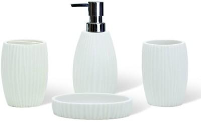 Freelance Stoneware Bathroom Set