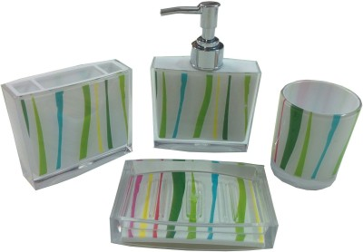 Arow Plastic Bathroom Set