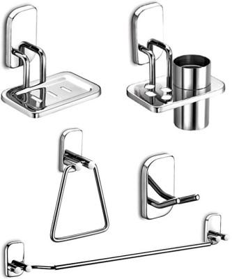 Haraz Stainless Steel Bathroom Set