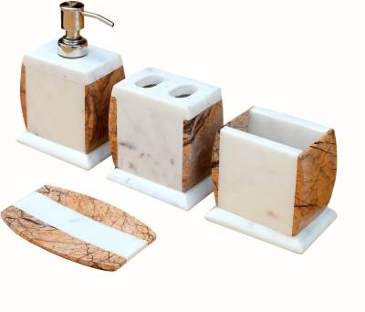 Stonkraft Luxury Stoneware Bathroom Set