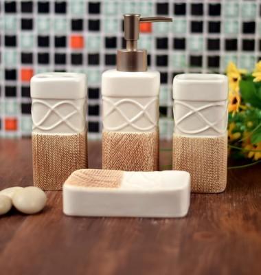 Enfin Homes Corus Porcelain Bathroom Set