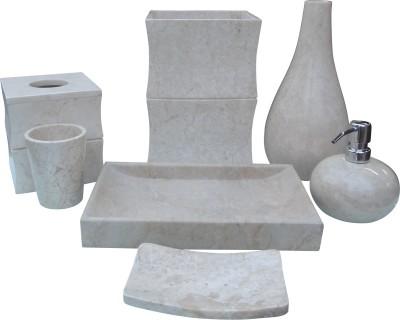 Stone Art Marble Bathroom Set
