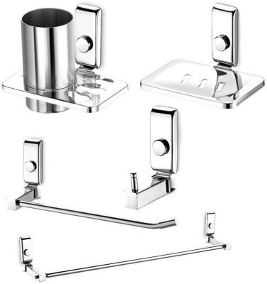 dazzle Opal Stainless Steel Bathroom Set