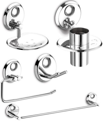 dazzle Ruby Stainless Steel Bathroom Set