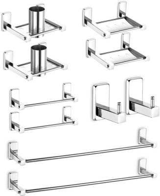 dazzle Emerald Stainless Steel Bathroom Set