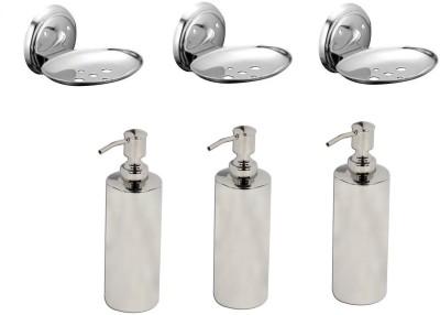 FLICKER GLOSSY Stainless Steel Bathroom Set