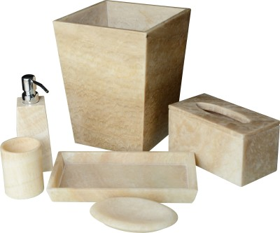 Stone Art Marble Bathroom Set