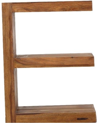 Jivan Solid Wood Open Book Shelf