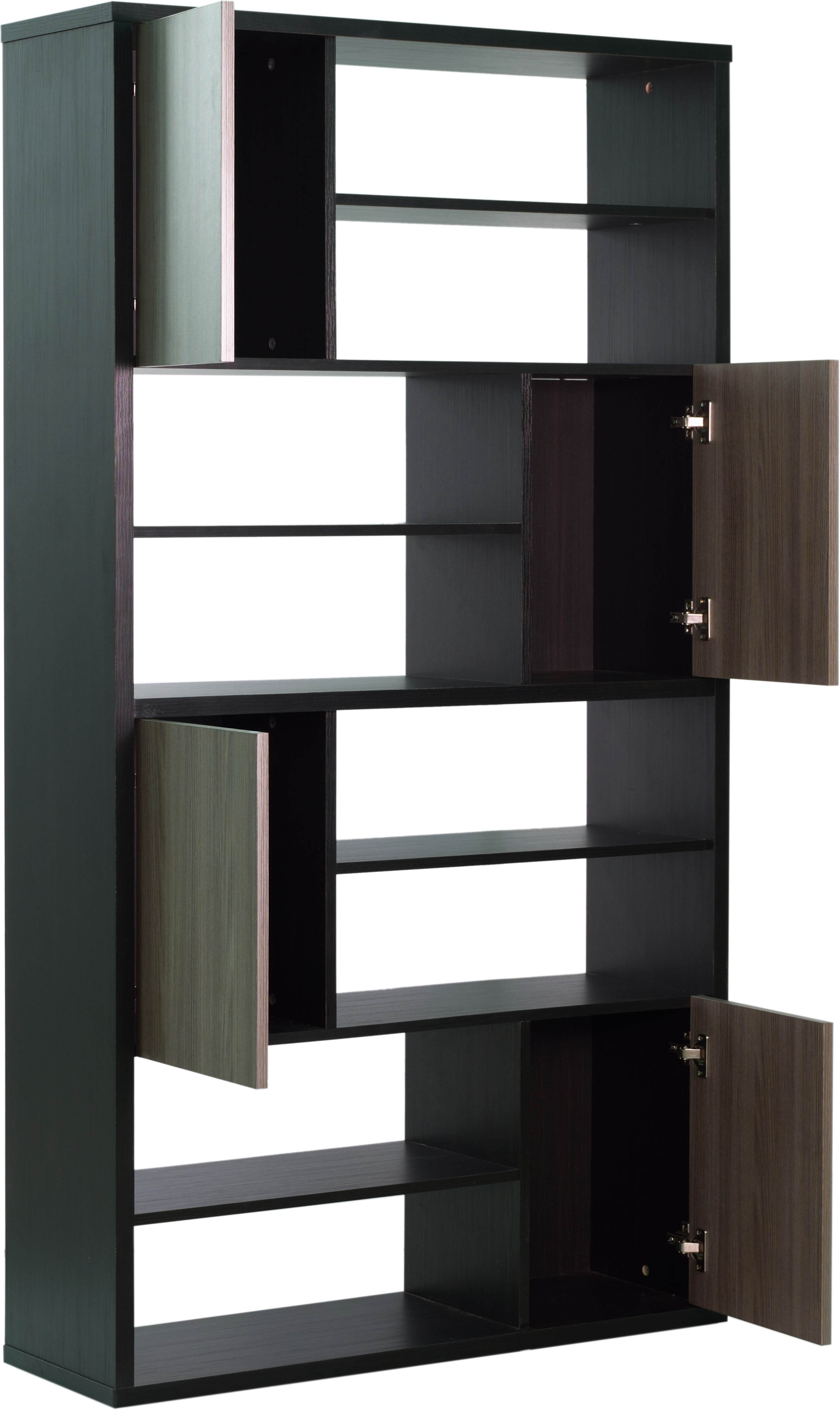 View Woodstock India Solid Wood Display Unit(Finish Color - Brown) Price Online(Woodstock India)