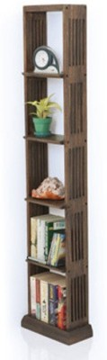 Urban Ladder Babylon Solid Wood Display Unit(Finish Color - Walnut)