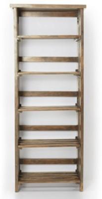 Urban Ladder Rhodes Folding Solid Wood Display Unit(Finish Color - Teak)