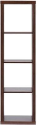 Urban Ladder Boeberg 4 x 1 Engineered Wood Display Unit(Finish Color - Dark Walnut)