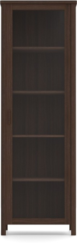 Urban Ladder Norland (50-Book Capacity) Engineered Wood Display Unit(Finish Color - Dark Walnut)