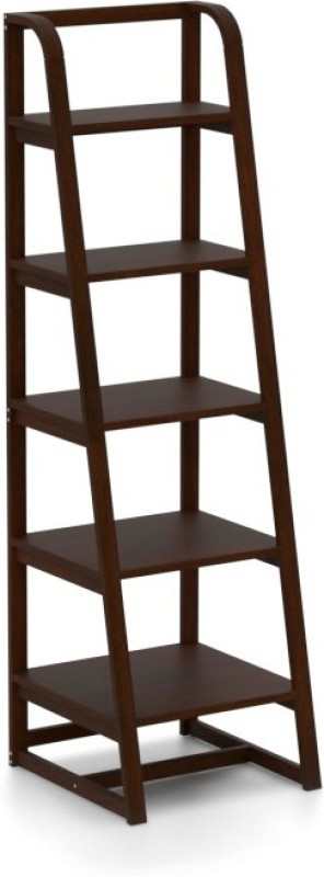Urban Ladder Scala Compact Solid Wood Display Unit(Finish Color - Dark Walnut)