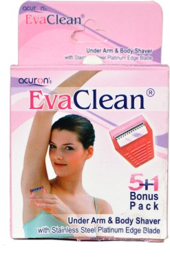Acuron Evaclean Underarm And Body Shaver Disposable Razor